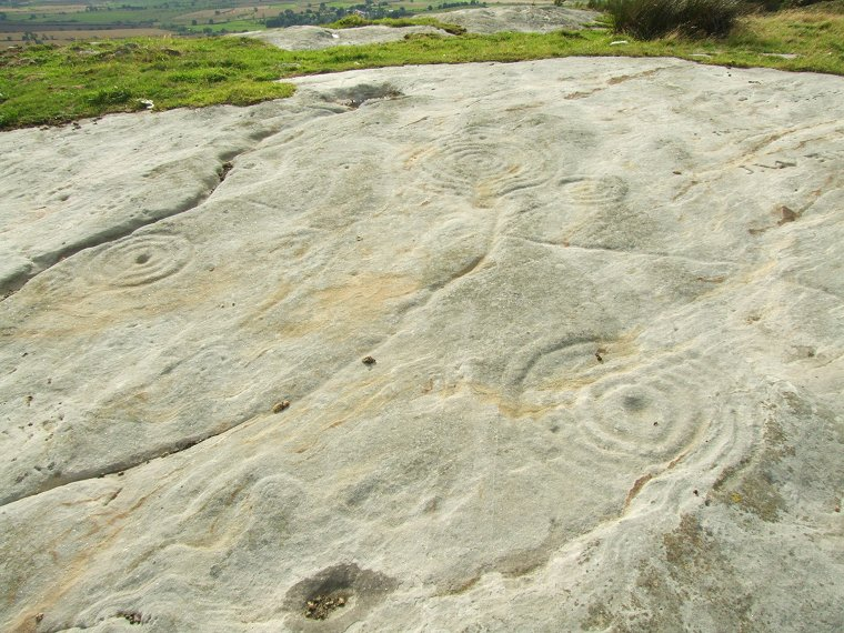 Chatton a carved rock art northumberland